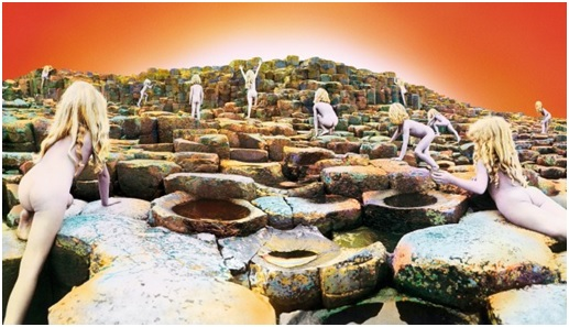 Portada House of the Holy, Led Zeppelin, Storm Thorgerson